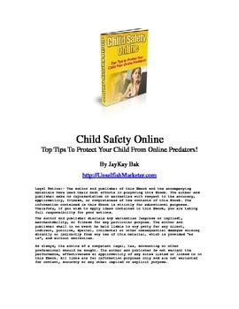 child safety (tips to protect the childen)