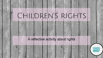 children's rights - an activity on unicef children's rights