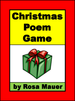 christmas Poem Game