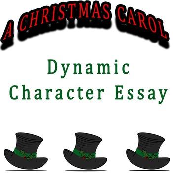 A Christmas Carol - Dynamic Character Essay Rubric & Stationery