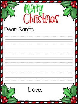 christmas sort: naughty v nice + bonus letter templates