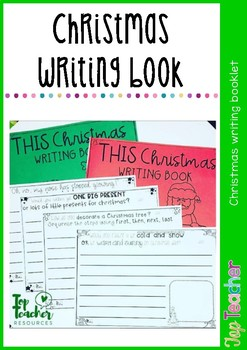 christmas writing book - 40 prompts