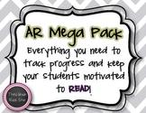 AR MEGA PACK ~ Gray Chevron Theme *Back to School*