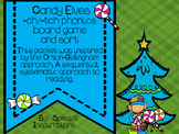 ch or tch? Candy Elves Phonics Board Game & Sort Orton-Gillingham Inspired