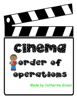 cinema order of operations