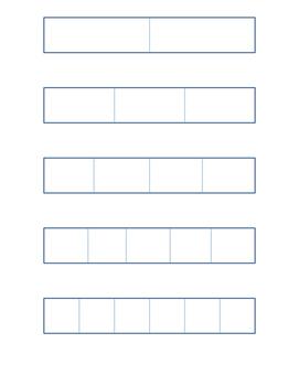 fraction flip booklet interactive math journal