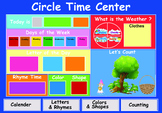 circle time center chart ( for classroom)