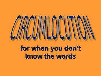 circumlocution en français