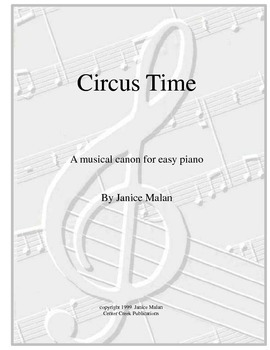 circus time for piano