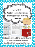 citizens fluency and comprehension leveled passages