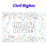 civil rights word searches & posters! (see preview)