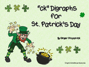 ck Digraphs for St. Patrick's Day Board Game