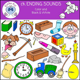 ck Ending Sounds Clip Art