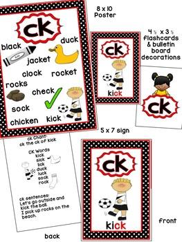 ck Phonogram/Phoneme Book & Poster Pack with Phonics Practice