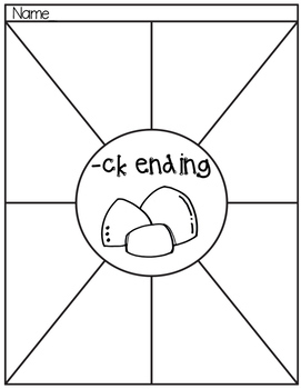 ck endings Hands-on Spelling and Phonics