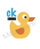ck sound collection .. ( words , worksheet , short story )