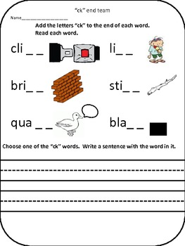 """ck"" worksheet"
