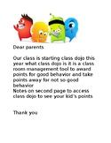 class dojo note