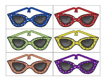 classification: sorting by attribute_retro sunglasses theme