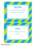classroom labels and flash cards template freebie