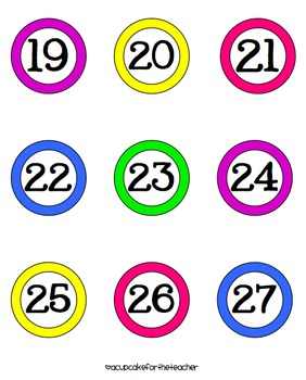 graphic relating to Free Printable Numbers 1-30 called Clroom Quantities Absolutely free Printables