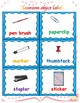 classroom objects/ school supplies labels
