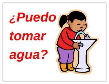 Classroom Phrases in Spanish Posters