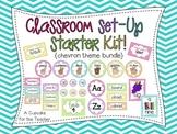 Classroom Set-Up Starter Kit! {Chevron Theme Bundle}