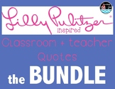 classroom + teacher quotes THE BUNDLE {lilly inspired}