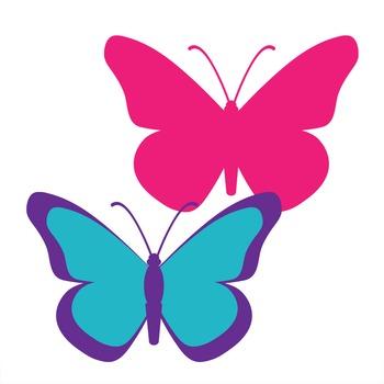 clip art butterflies