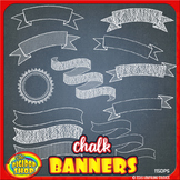 clip art chalkboard banners with chalkboard background