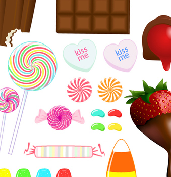 clip art of candy