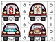 clip cards_medial vowel work: transportation theme_4 sets