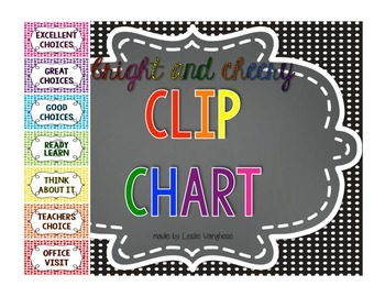 clip chart {Bright and Cheery}