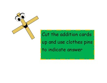 clip the addition fact