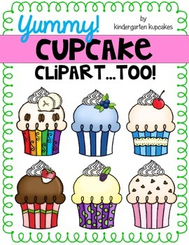 clipart: cupcakes...too
