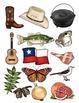 clipart: texas symbols_30 images