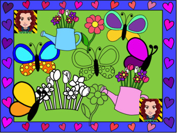 mother's day, father's day (clipart and scratch card instructions)