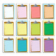 clipboard clipart with notebook paper - .png and .jpg//col