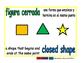 closed shape/figura cerrada geom 1-way blue/verde