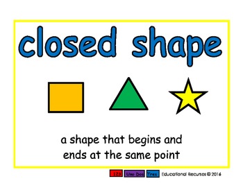 closed shape/figura cerrada geom 2-way blue/rojo