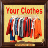 clothes - what's in your closet ? - ESL, EFL, ELL adult and kid conversation