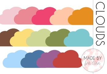 clouds - clip art