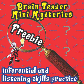 Brain Teaser Mysteries Fun Freebie