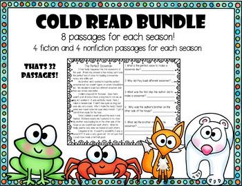 cold read bundle