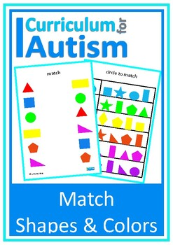 Match Colors & Shapes, Visual Thinking Skills, Autism, Spe