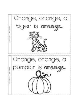 color book, orange