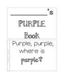 color book, purple