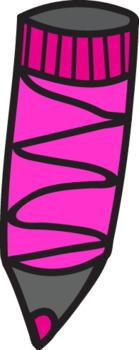 color pencil-clipart-Commercial Use