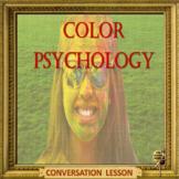color psychology - ESL adult and kid conversation in Google slides format